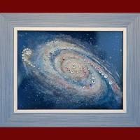 "Картина Swarovski ""Галактика"""