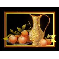"Картина Swarovski ""Натюрморт с персиками"""