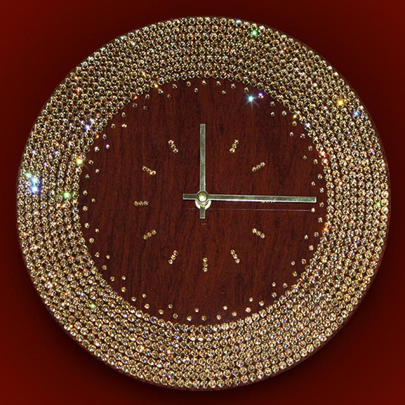 Как сделать часы с камнями 458