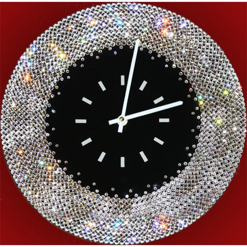 Как сделать часы с камнями 224
