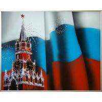 """Картина с кристаллами Сваровски """"Спасская башня"""""""