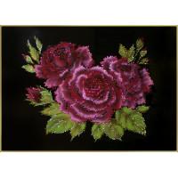 """Картина Swarovski """"Розы"""""""