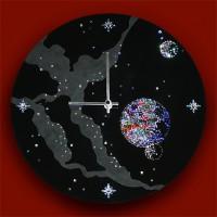 """Картина Swarovski """"Часы """"Космическое время"""""""""""