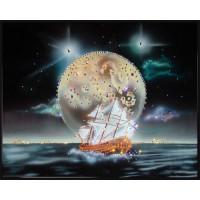 """Картина Swarovski """"Фэнтези. Морской пейзаж"""""""