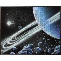 "Картина Swarovski ""Кольца Сатурна"""