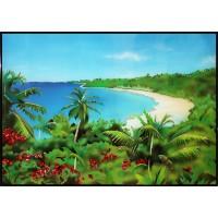 """Картина Swarovski """"Тропический рай"""""""