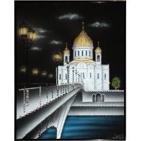 "Картина Сваровски ""Храм Христа Спасителя-2"""