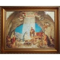 """Картина Сваровски """"Рождение Иисуса Христа"""""""