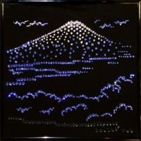 "Картина Swarovski ""Гора Фудзи"""