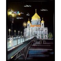 """Картина Swarovski """"Храм Христа Спасителя"""""""