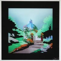 """Картина Swarovski """"Летний сад"""""""