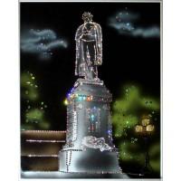 """Картина Swarovski """"Памятник Пушкину"""""""