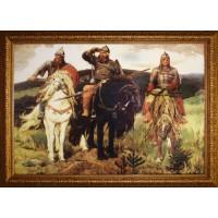 "Картина Swarovski ""Три богатыря"""