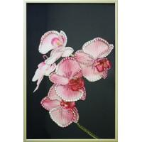 """Картина Swarovski """"Орхидея"""""""