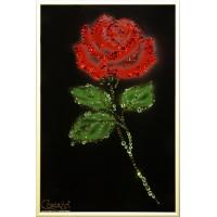 "Картина Swarovski ""Роза"""