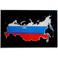 "Картина Swarovski ""Карта России"""