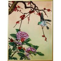 """Картина Swarovski """"Цветы счастья"""""""