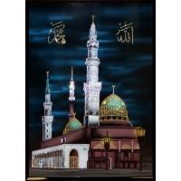 "Картина Swarovski ""Мухаммед Пророк Аллаха"""