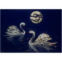 """Картина Swarovski """"Лебеди"""""""