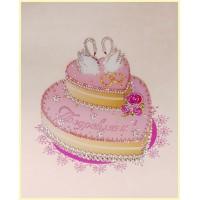 "Картина Swarovski ""Свадебный торт"""
