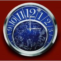 """Картина с кристаллами Сваровски """"Часы """"Зодиакальное созвездие"""""""""""