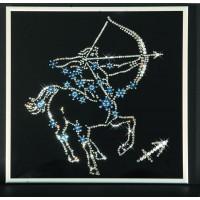 """Картина с кристаллами Сваровски """"Звездный стрелец"""""""