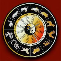 """Картина Swarovski """"Часы """"Символы года"""""""""""