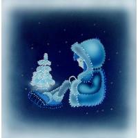 """Картина Swarovski """"Морозко"""""""