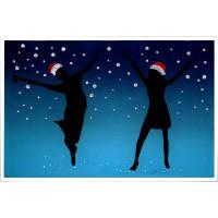 """Картина Swarovski """"Новогодняя фиеста"""""""