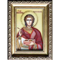 "Картина Swarovski ""Святой Пантелеймон"""